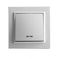 Выключатель с подсветкой ElectroHouse серия Enzo цвет белый EH-2103