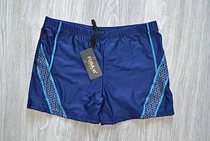 Плавки боксеры мужские купальные Miego синие 46р (69524)*