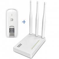 4G / 3G Комплект WiFi Роутер Netis MW5230 + модем Huawei E3276, фото 1