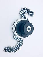 Катушка (головка, насадка )для триммера с цепью бензопилы