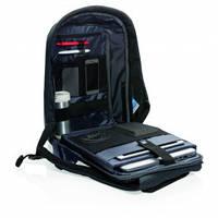 Черный рюкзак XD Design Bobby XL P705.561 против от краж