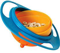 SALE! Тарелка непроливайка-неваляшка Gyro Bowl, фото 2