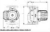Циркуляційний насос для опалення IMP PUMPS GHNbasic II 65-120F, фото 4