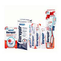 """Комплекс """"Избавление от чувствительности"""" (Зубная паста, ополаскиватель, флосс + подарок Зубная щетка) BioRepair"""