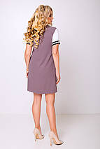 Женское летнее платье с манжетами и надписью (Тесла lzn), фото 2