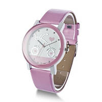 """Часы женские """"Велосипед"""" розовые"""