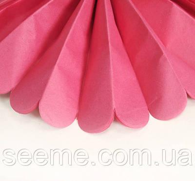 Паперові помпони з тишею «Azalia», діаметр 25 див.
