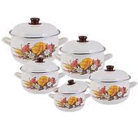 Набор посуды EDENBERG EB 1875 из 10 предметов