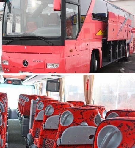 Автобус Mercedes-Benz 0350 Tourizmo ( 45 + 1 место ), ― идеальное решение для организации групповых поездок в Европу