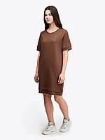 Літнє плаття поло коричневе Urban Planet OVER BRWN розміри XS S M L
