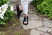 Женские босоножки Windrose натуральная кожа с открытой пяточкой, фото 9