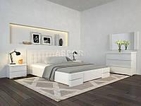 Ліжко двоспальне Регіна Люкс з підйомним механізмом