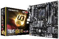 Мат.плата AM3+ (760G) Gigabyte GA-78LMT-USB3 R2, 760G/SB710, 4xDDR3, Radeon HD 3000, 6xSATA2, IDE, 1xPCI-E 16x, 1xPCI-E 1x, 1xPCI, ALC892, GLan,