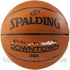 М'яч баскетбольний Spalding Downtown Orange Size 7, фото 2