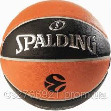 М'яч баскетбольний Spalding Euroleague TF-1000 Legacy Size 7, фото 2