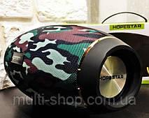 Бездротова блютуз калонка HOPESTAR H20/ портативна акустика bluetooth 31W Камуфляж
