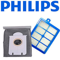 Фильтр и мешок для пылесоса Philips FC9170