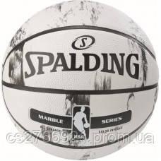 М'яч баскетбольний Spalding NBA Marble Multi-Color Outdoor Size 7, фото 2