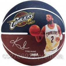 М'яч баскетбольний Spalding NBA Player Kyrie Irving Size 7, фото 2
