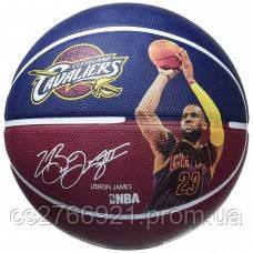 М'яч баскетбольний Spalding NBA Player Lebron James Size 7