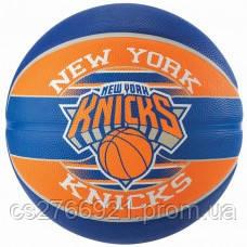 М'яч баскетбольний Spalding NBA Team NY Knicks Size 7, фото 2