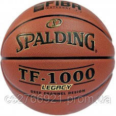 М'яч баскетбольний Spalding TF-1000 Legacy FIBA Size 7, фото 2