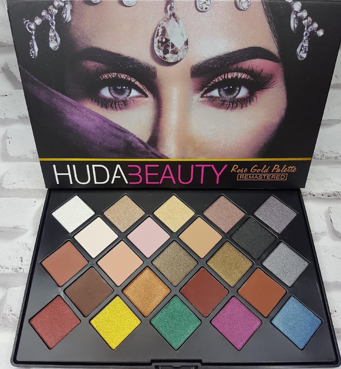 Тени для век Huda Beauty Rose Gold Palette Remastered