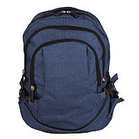 Молодежный синий рюкзак V028 blue