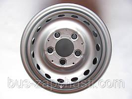 Диск колесный (6J×15H2 5x130 ET75) на MB Sprinter, VW LT 1996-2006 — VAG (Оригинал) — 2D0601027E091