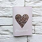 Обложка для паспорта Милое сердце, фото 2