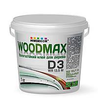 Клей ПВА вологостійкий для дерева D3 Woodmax WR 13.50M (Польща) 0,5л