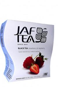 Чай чёрный JAF Exclusive Collection Клубника Малина 100г