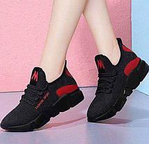 Стильні легкі кросівки з яскравими вставками, 36 - 40, фото 3