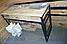 Полка навесная книжная 190*1050*290 серия Квадро от Металл дизайн, фото 8