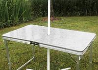 Складной туристический стол и стулья
