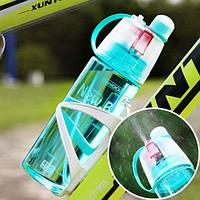 Бутылка для воды New.B 600 мл. Без картонной упаковки Голубая
