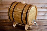 Жбан-бочка дубовый для напитков 50 литров