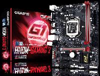 Мат.плата 1151 (H110) Gigabyte GA-H110M-Gaming 3, H110, 2xDDR4, Int.Video(CPU), 4xSATA3, 1xPCI-E 16x 3.0, 2xPCI-E 1x 2.0, ALC892, GLan,