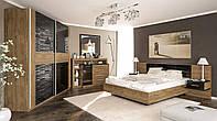Спальня Фиеста Дуб Април + каркас ламель