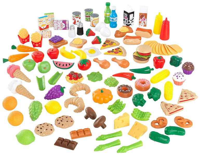 KidKraft Набор игрушечных продуктов 115 деталей 63330 Tasty Treats Play Food Set 115 Pieces