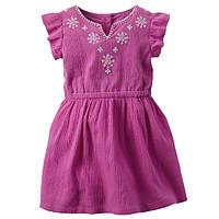 Плаття для дівчинки Carters фіолет