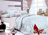 1,5-спальный комплект постельного белья с компаньоном S-134