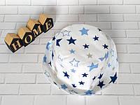 Хлопковая панамка от солнца размер 50-52 см