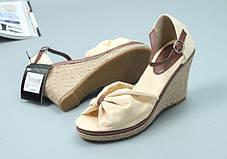 Модные женские босоножки на тонкетке, 38-39, фото 2