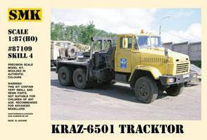 КрАЗ-6501 Седельный тягач.1/87 SMK 87109