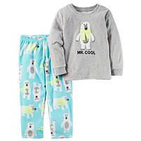 Пижама с флисовыми штанишками для мальчика Carters мистер крутой