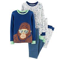Набор из 2х хлопковых пижам для мальчиков Carters горилла