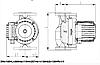 Циркуляційний насос для опалення IMP PUMPS GHNbasic II 100-120F-10, фото 4