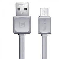 Кабель Remax RC-008m Fast Data Micro-USB 1M Grey