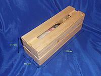 Заготовка деревянная «Короб для вина» №01 350х115х115 мм сосна 10,004 Украина